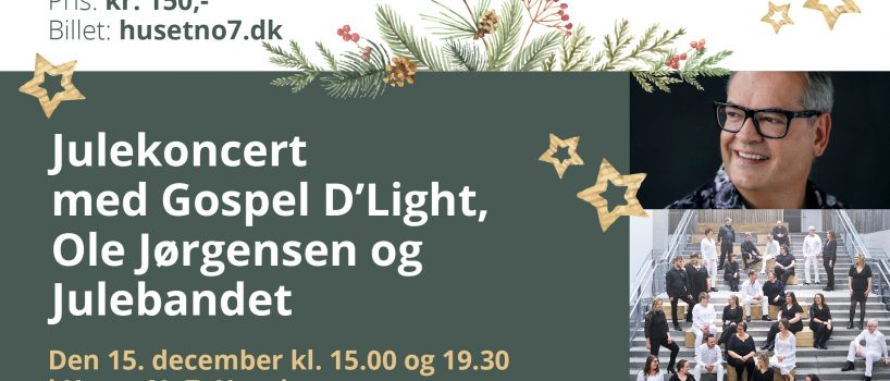 Julekoncert m/Gospel D'Light