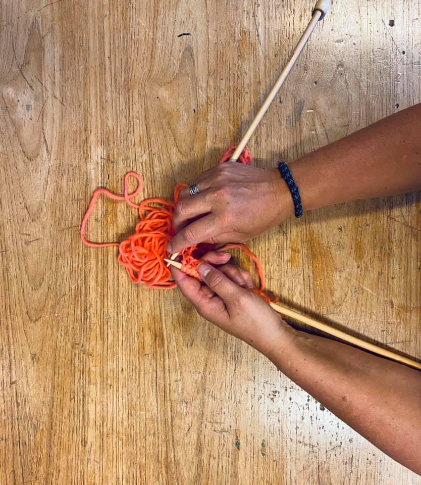 strikke værksted